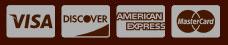 Visa Discover American Express Master Card