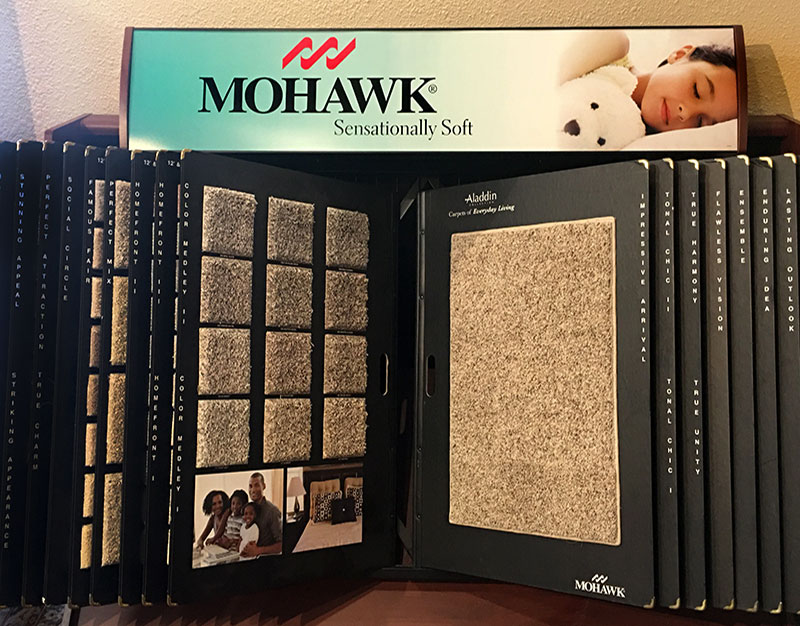 Mohawk Carpet Samples